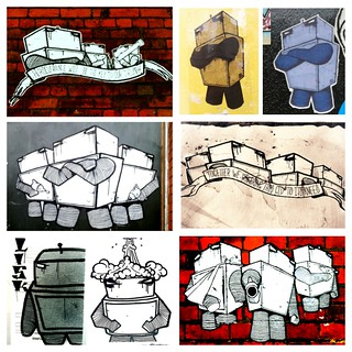 Robo Collage... courtesy of Gully Elusive