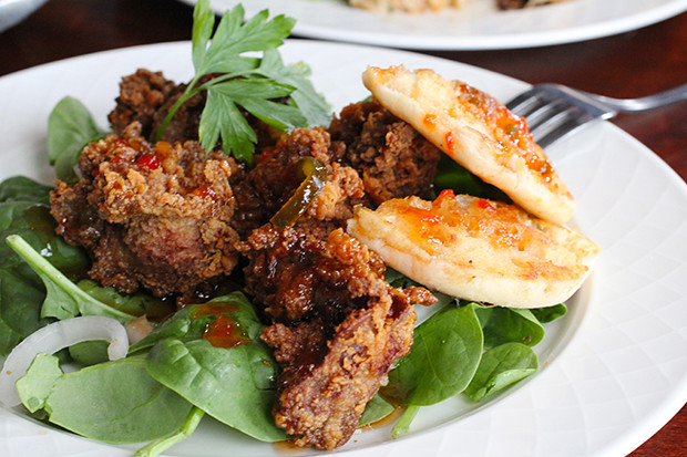 Southern Fried Chicken Livers, Retropolitan, Sarasota, FL