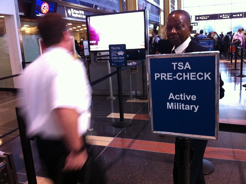 TSA Pre-Check at National Airport DCA