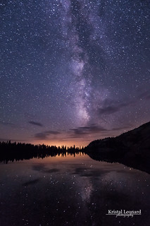 Milky Way on May Lake, Yosemite
