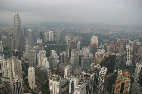 CBD from Menara Tower