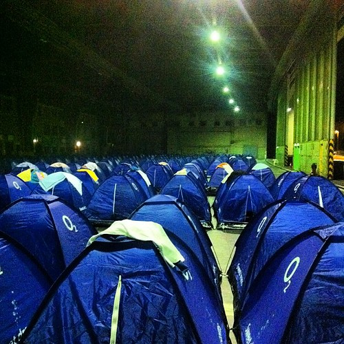 Finally hit the last bay full of tents at #CPEurope
