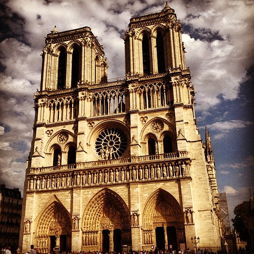 Notre Dame #skyporn, #lovingthemoment #Paris #toomanyhashtags