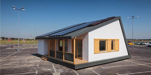 Сборный дом PRISPA производит на 20% больше энергии, чем потребляет