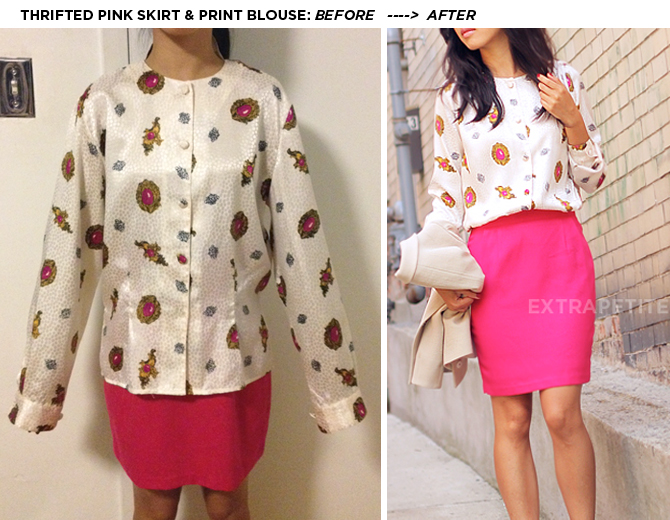 How To Do Blouse Alterations Chiffon Blouse Pink