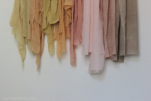 naturally dyed summer palette