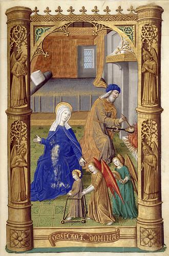 012-Libro de horas de Carlos VIII Rey de Francia -1401-1500-Copyright Biblioteca Nacional de España