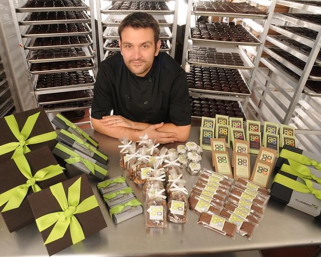 Jean-Francois Bonnet, owner of Tumbador Chocolate from Sunset Park, Brooklyn.