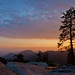 Beetle Rock Sunset #1, Sequoia National Park by flatworldsedge