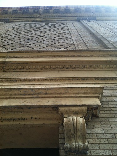 architectural detail in St Paul