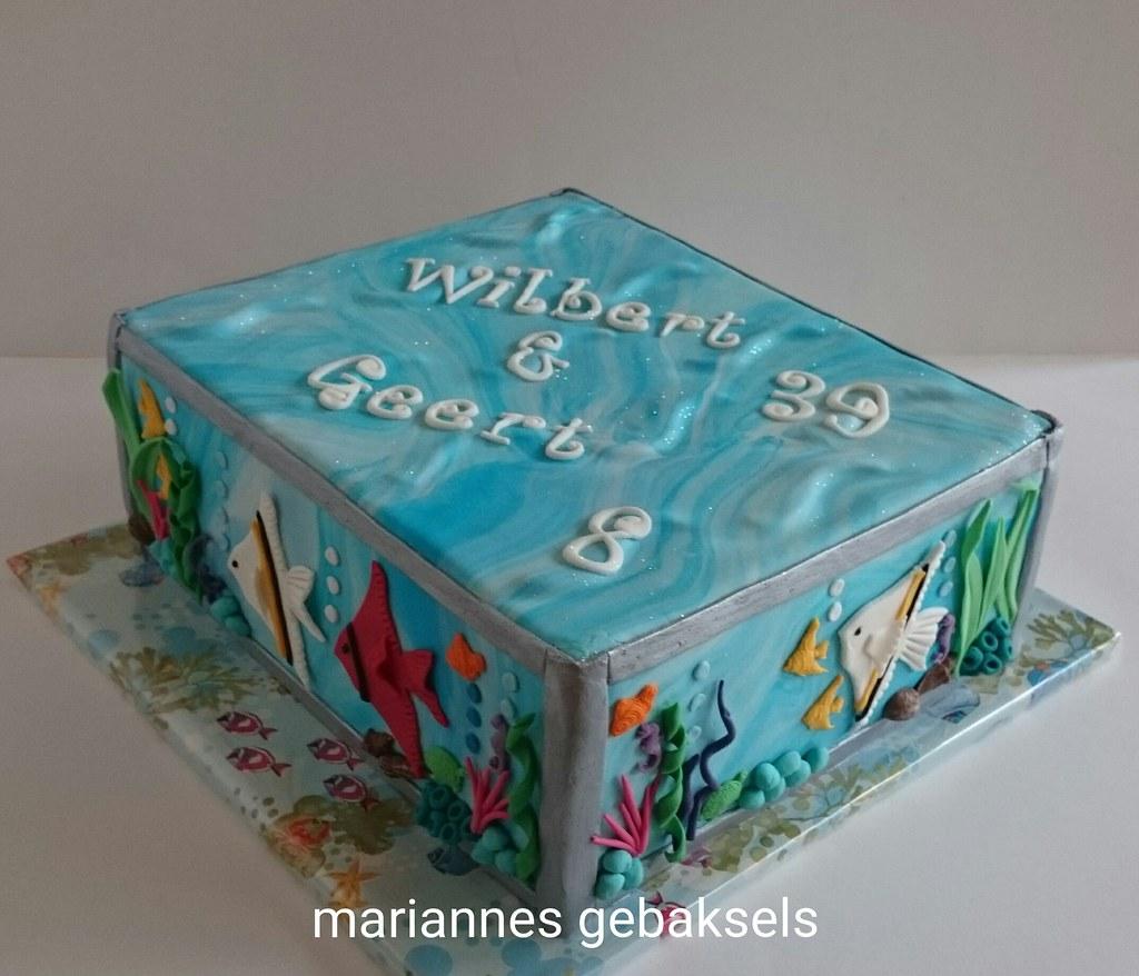 aquarium taart mariannes gebaksels's most interesting Flickr photos | Picssr aquarium taart