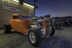 Hot Rod at the Drive In