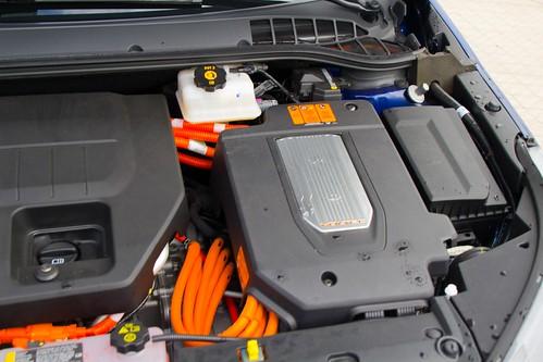 Motor eléctrico principal, del Opel Ampera, Coche del Año 2012 en Europa