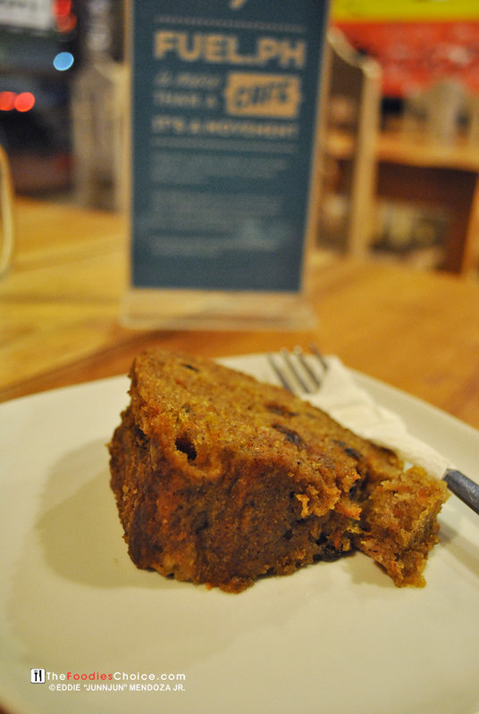 Carrot Cake at Fuel.ph Iloilo