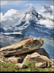 The Matterhorn from Sunnegga, Valais, Switzerland