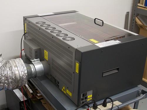 Replacing the laser tube | Evil Mad Scientist Laboratories
