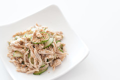 Sesame Chicken Cucumber Salad