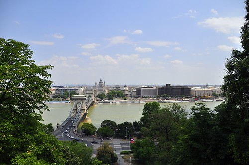 Pest from the Buda Side...Budapest, Hungary