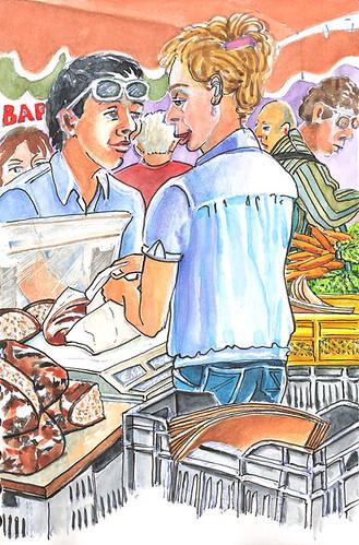 Jour de marché - Market day 5 by alain bertin