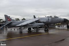 ZH801 - ZH800 - Royal Navy - British Aerospace Sea Harrier FA2 - Fairford RIAT 2012 - 120707 - Steven Gray - IMG_2021