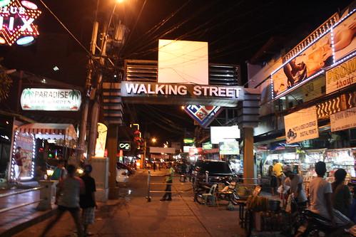 アンヘレスのWalking Street