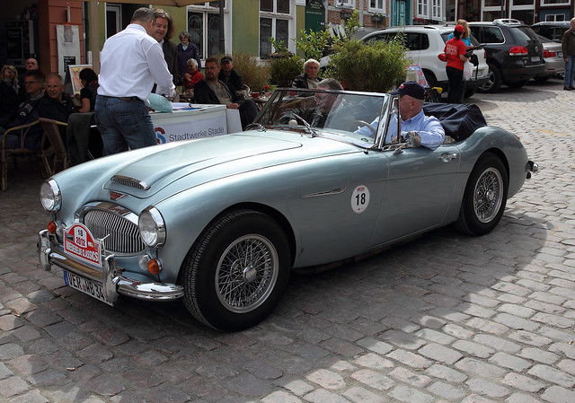1968 Austin Healey 3000 http://www.flickr.com/photos/dimuessler/7567210824/
