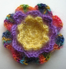24 Crochet Irish Rose