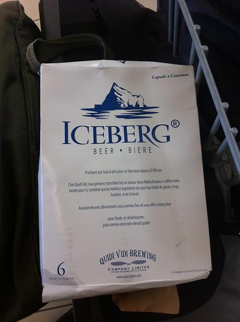 Iceberg Beer!