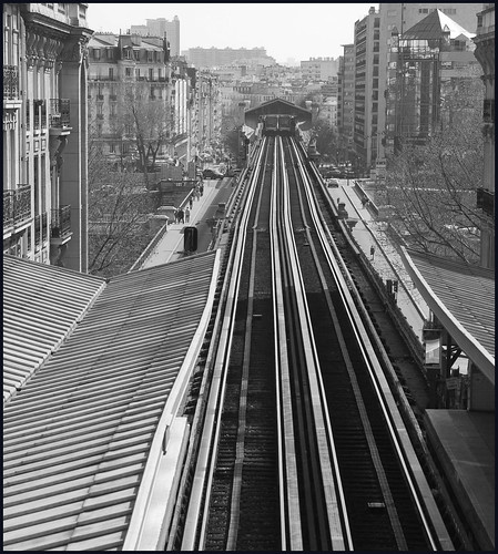 metro Parijs by hans van egdom