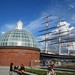 Greenwich Foot Tunnel and the Cutty Sark