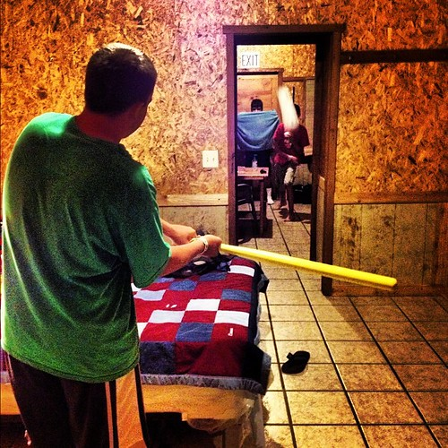 Wiffle in the cabin. #wiffleball #wiffle