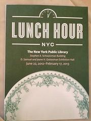 月, 2012-06-25 12:20 - Exhibition 'Lunch Hour' at the New York Public Library
