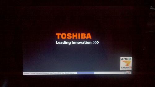 Windows 8 Toshiba Satellite Laptop Boot Loop Failure