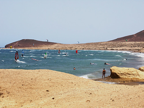 El Médano, beach and windsurfing