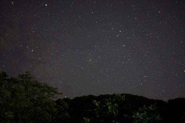 プラナーで星空散歩 アンタレス付近