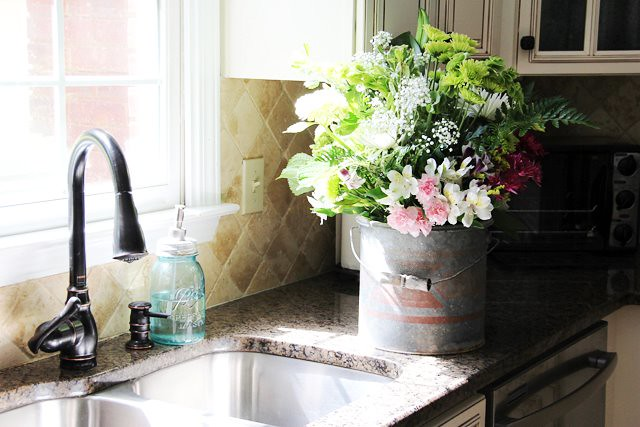 kitchen sink flowers