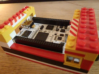 Beaglebone Lego Case 1 inside