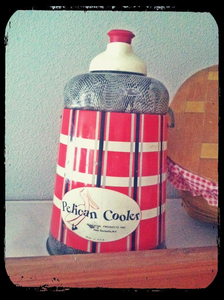 Vintage Pelican Cooler