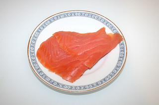 09 - Zutat Räucherlachs / Ingredient smoked salmon