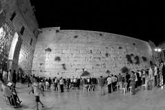 Wailing wall,Western wall,Kotel prayer at night