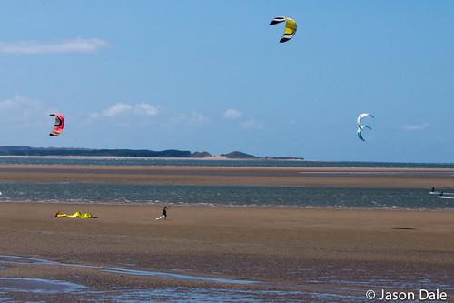 Kitesurfing - Llanelli