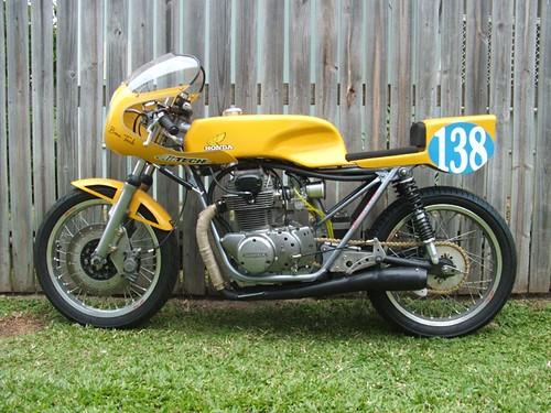 cb350 by Truimph Rider