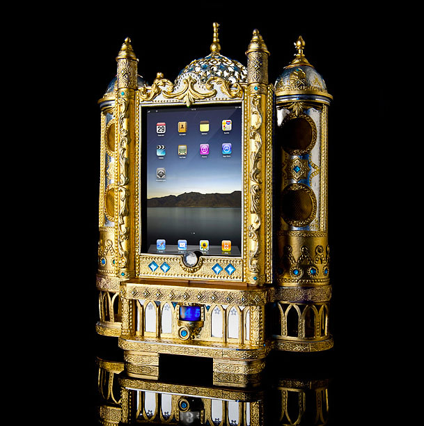 Sound Shrine iPad Speaker