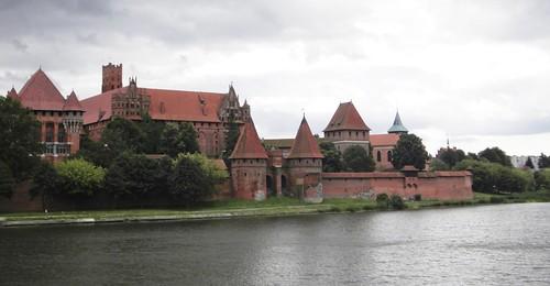 El Castillo de Malbork en Polonia