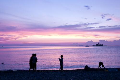 sunset nikon 夕景 夕焼け d300s 1685mm