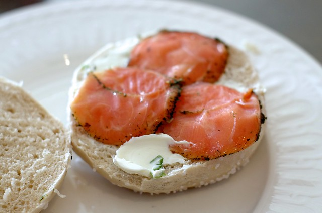 Bagels And Lox Restaurant Near St Clair In Toronto