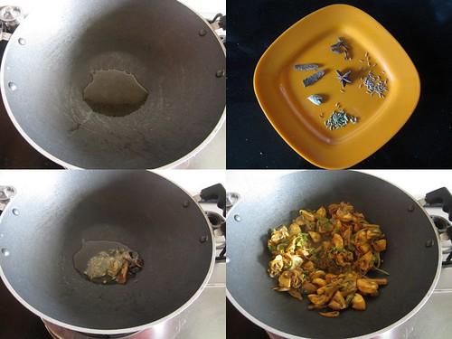 Chettinad Mushroom Biryani-step5