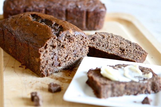 Chocolate Banana Bread 003