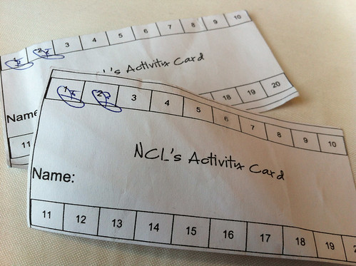 Norwegian Pearl - Activity Cards