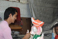 Ganesha Workshops Bandra Shot By Marziya Shakir 4 Year Old Canon 60 D by firoze shakir photographerno1